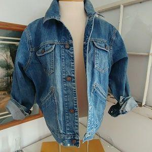 Vintage GAP denim truckers jacket large